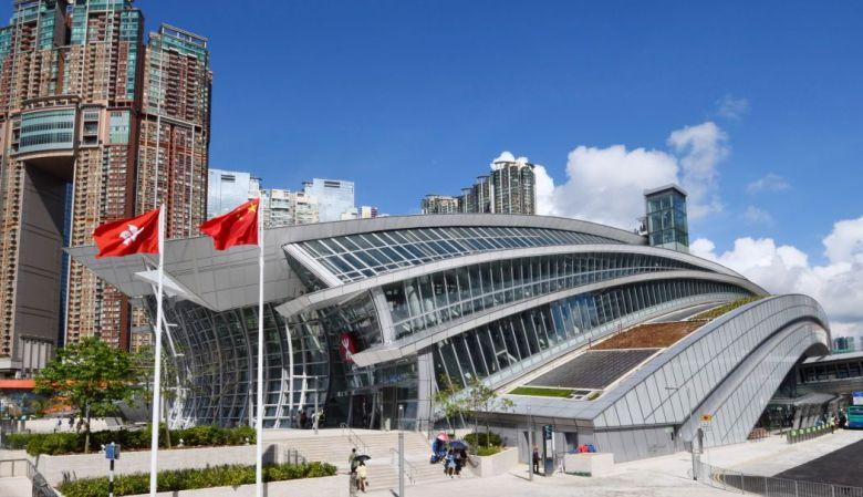 Guangzhou-Shenzhen-Hong Kong Express Rail Link West Kowloon terminus