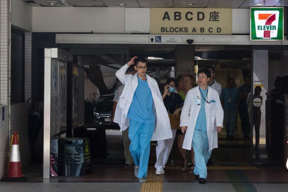 Public hospital doctors