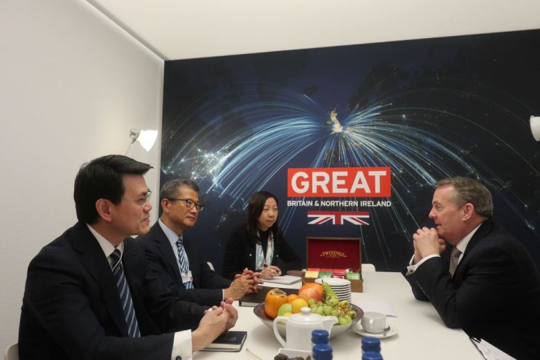 Edward Yau Paul Chan Liam Fox