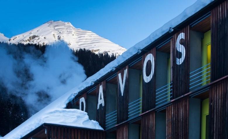 World Economic Forum in Davos.