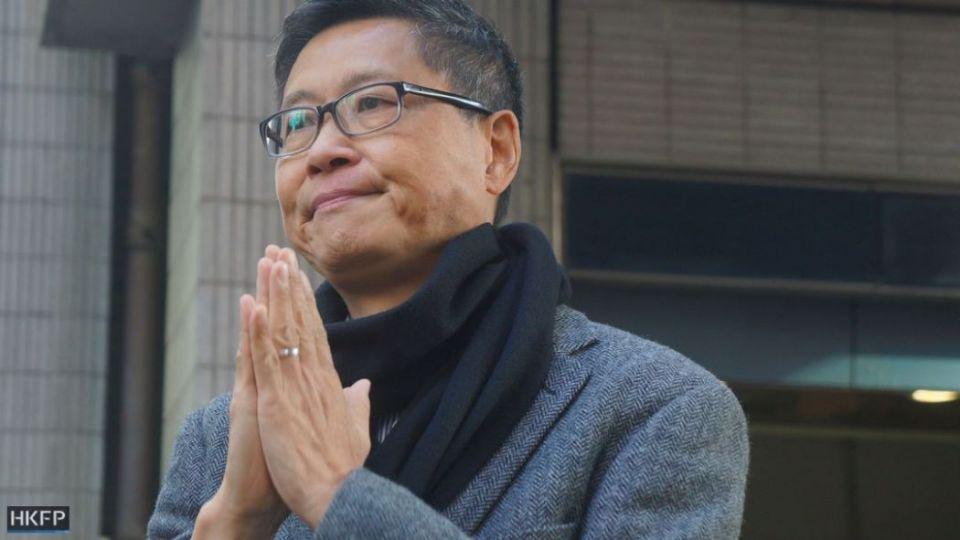 january 1 rally Chan Kin-man