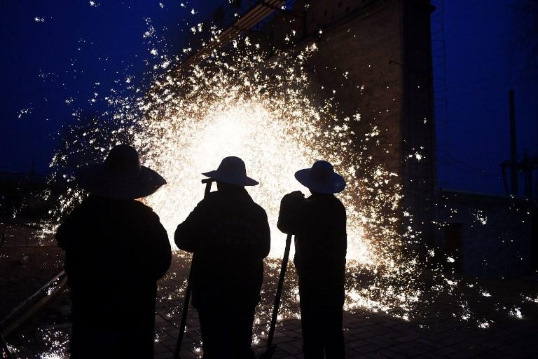 China blacksmiths