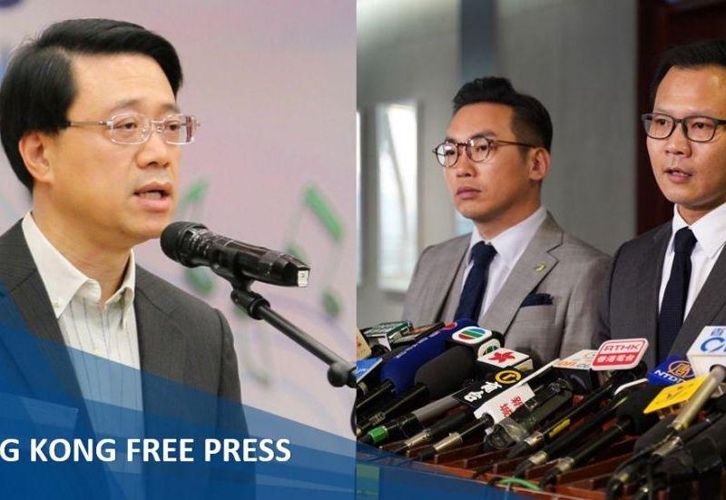 John lee alvin yeung dennis kwok extradition