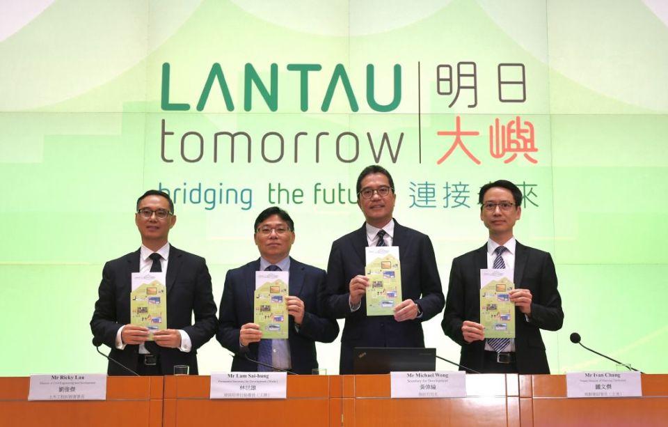 Secretary for Development Michael Wong