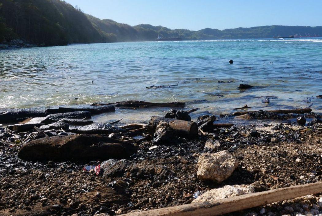 solomon islands oil spill
