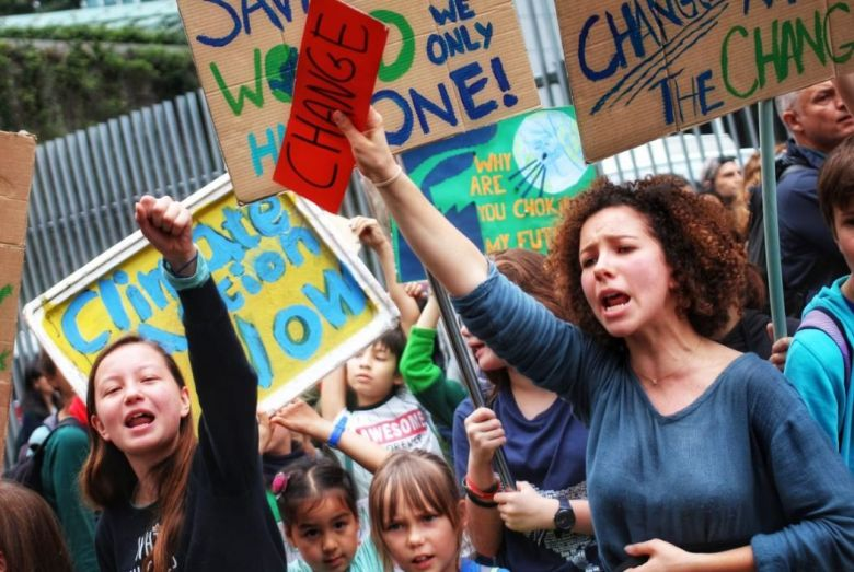climate change rally march