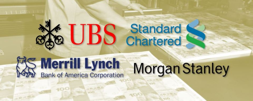 ubs standard chartered morgan stanley