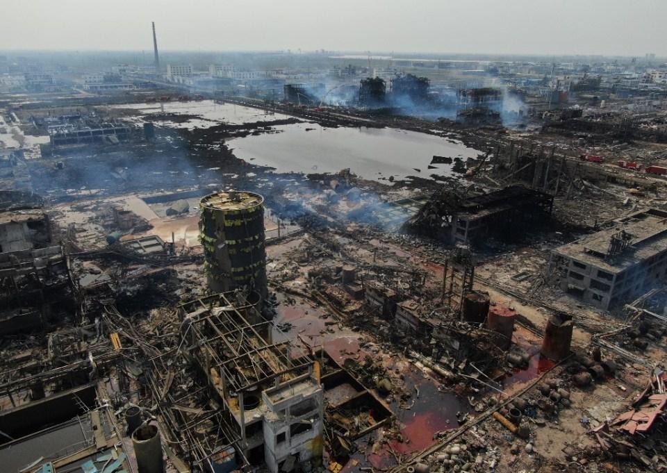 Jiangsu explosion