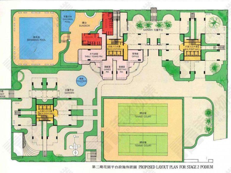 Garden vista floor plan phase two