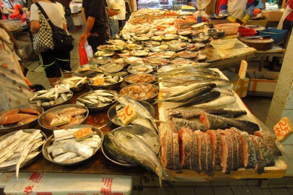 Sheung Shui fish market