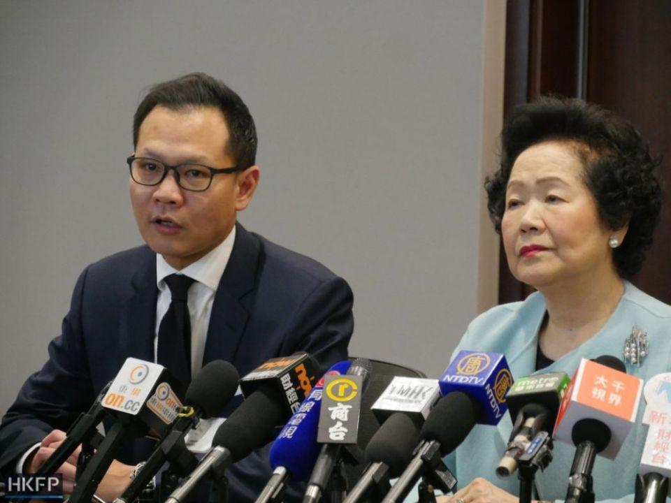 Dennis Kwok Anson Chan