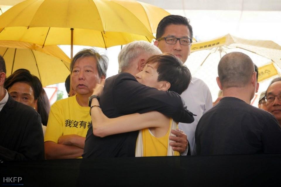 Occupy nine sentencing Tanya Chan Chu Yiu-ming