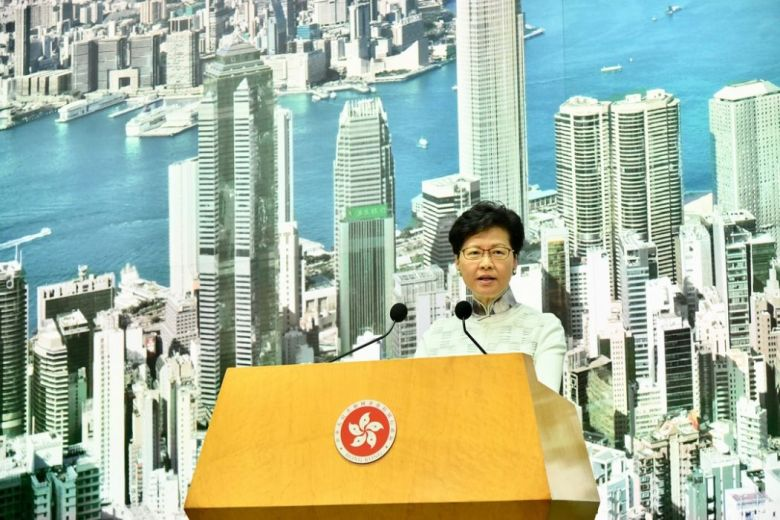 carrie lam extradition