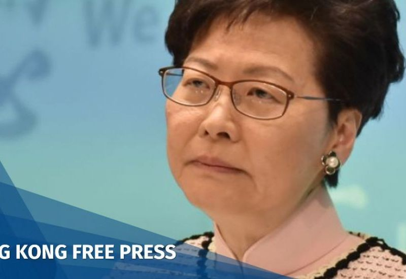 carrie lam death threats