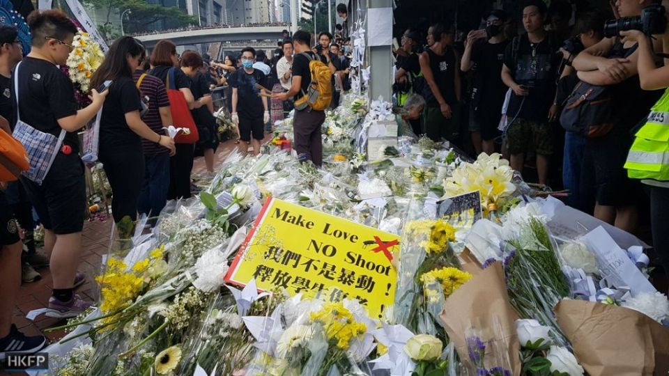 china extradition June 16 Sunday protest death suicide (4) (Copy)