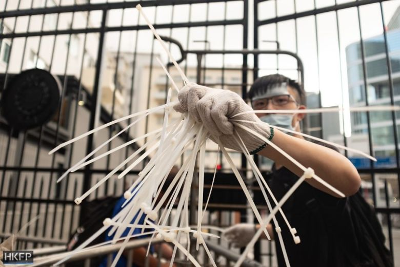 cable tie china extradition protest june 21 may james