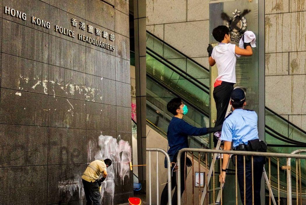 police wan chai clean june 22 extradition dan garrett