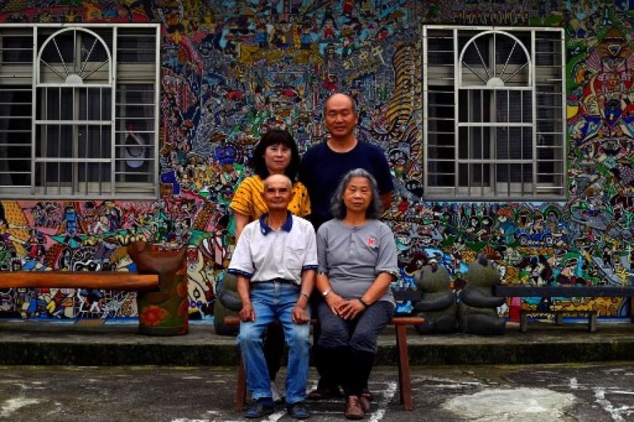 Hakka graffiti art Wu Tsun-hsien Ruan Chiao