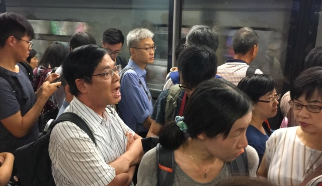 admiralty station protest july 24