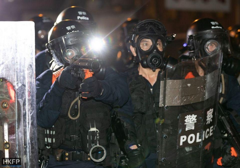 july 28 sheung wan china extradition tear gas