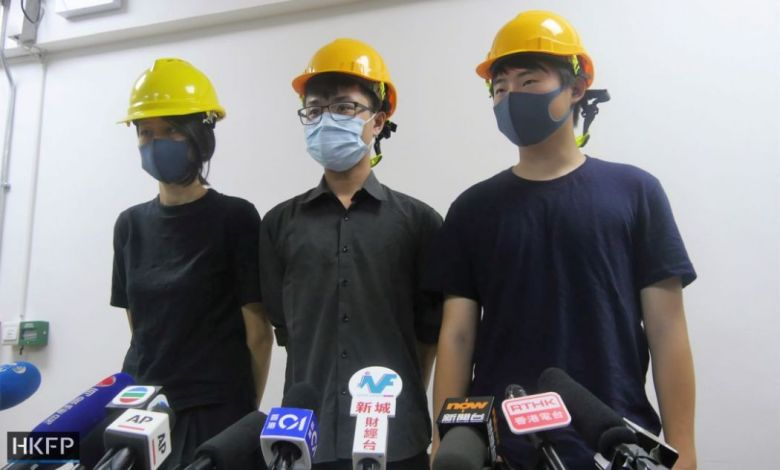 china extradition protesters civil press conference