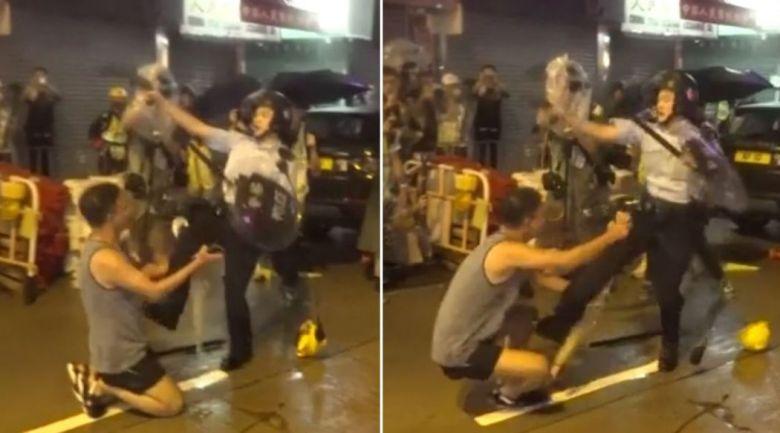 tsuen wan police kick china extradition
