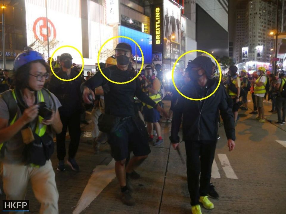 causeway bay august 11 china extradition undercover police