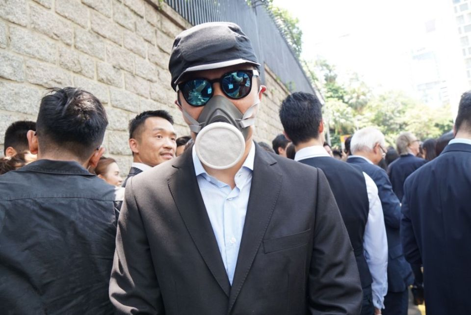 lawyers march protest inquiry prosecution extradition law August 7