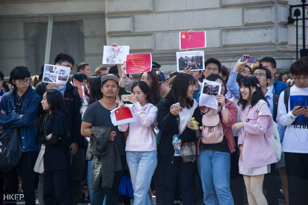 pro-china beijing uk solidarity august 17 china extradition (15)