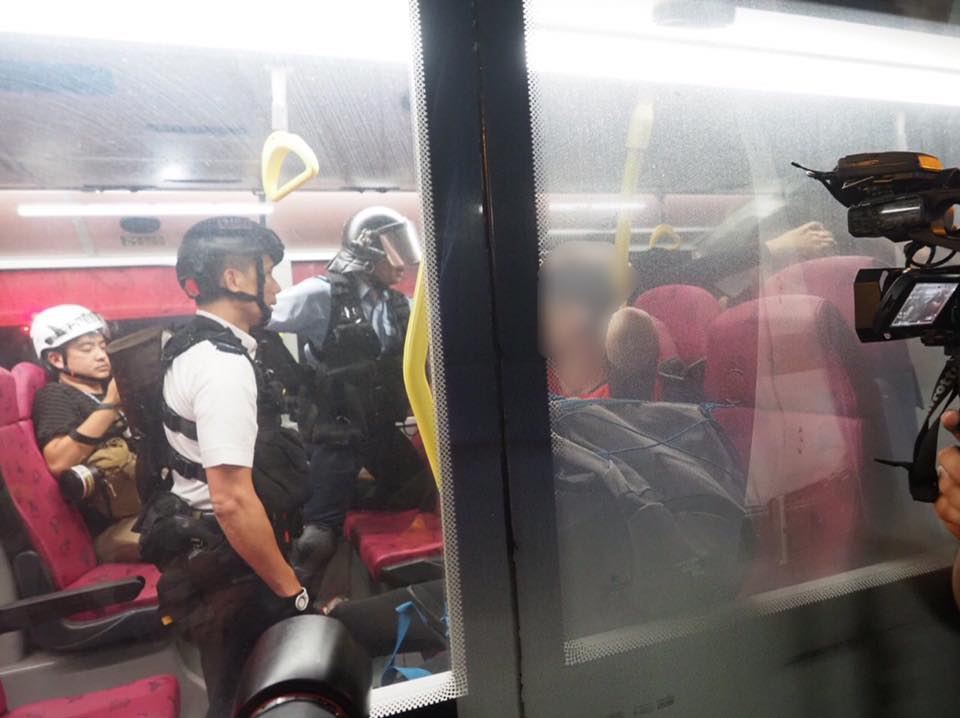 kowloon bay bus police china extradition september 3