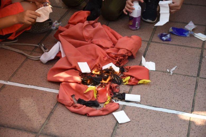 Tuen Mun September 21 protest rally