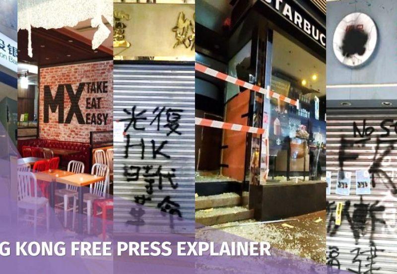 explainer vandalism hong kong