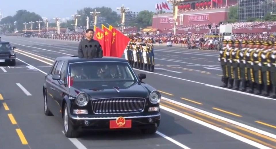 xi jinping china national day