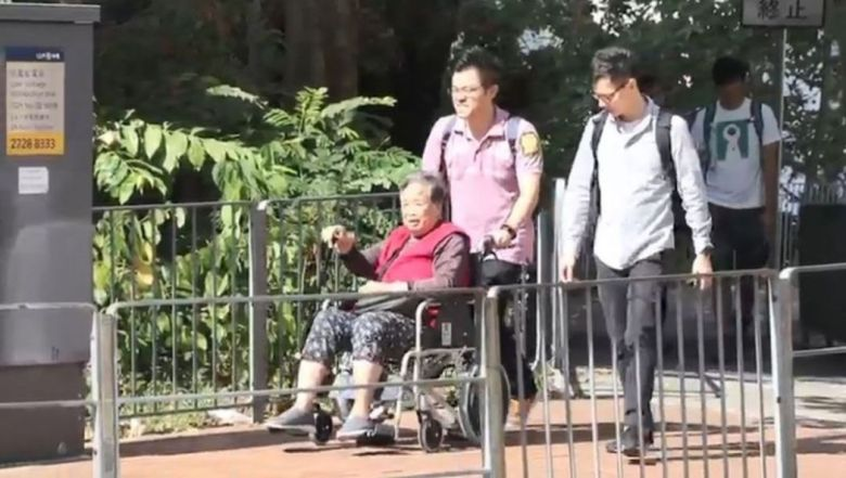 district council election voter manipulation wheelchair