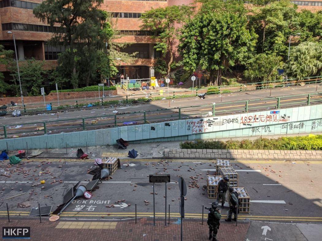 november 20 polytechnic university polyu siege