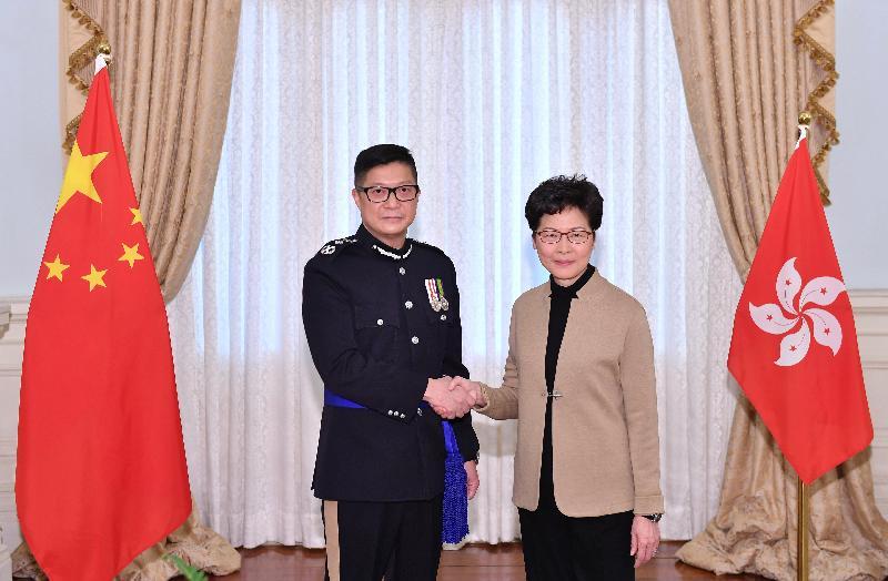 Chris Tang Carrie Lam
