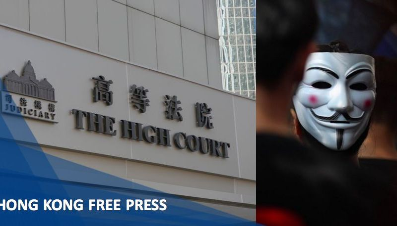High Court anti-mask law
