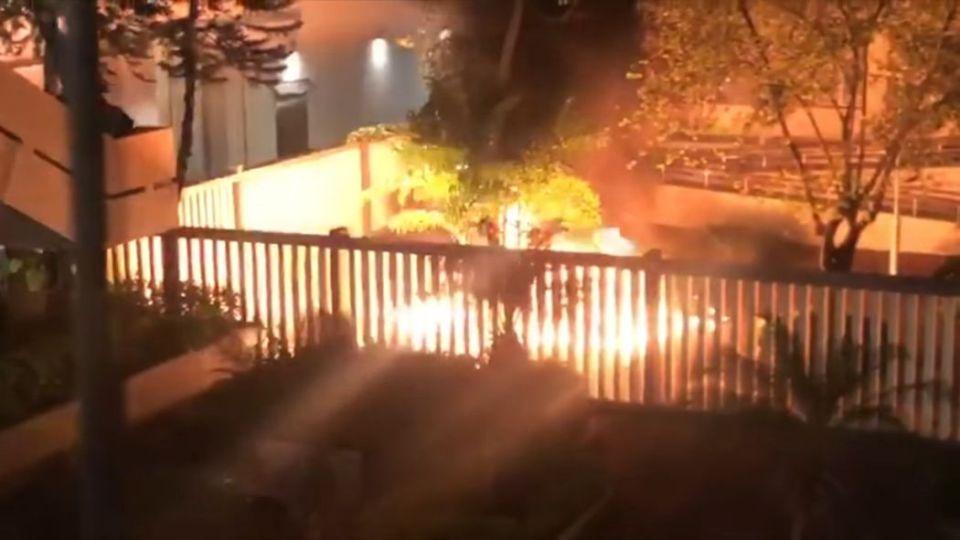 Tsuen Wan Magistrates' Court arson