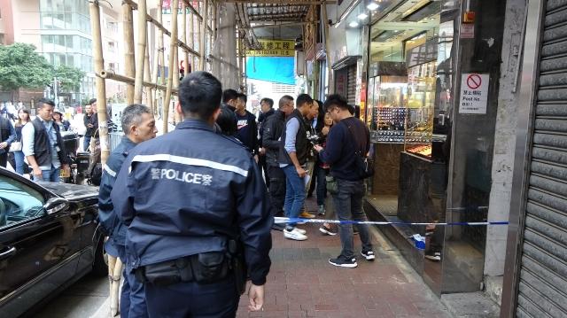 Police robbery Yau Ma Tei