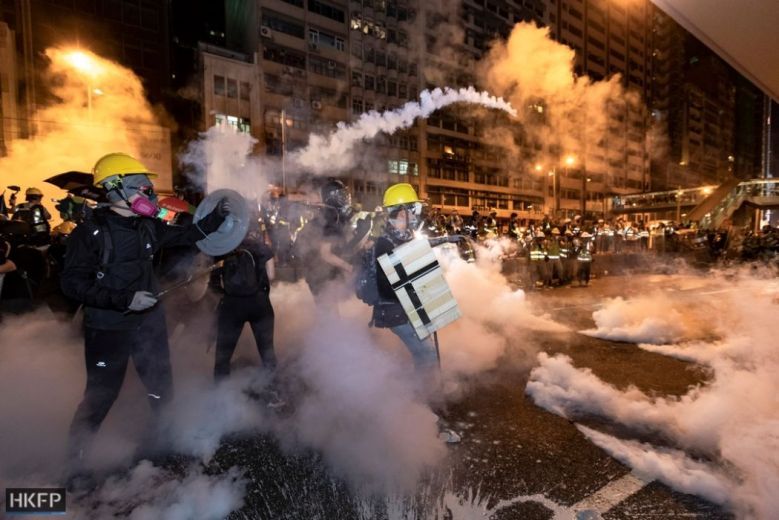 july 21 may james china extradition protest best of tear gas