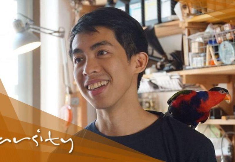 kevin cheung varsity trash upcycling