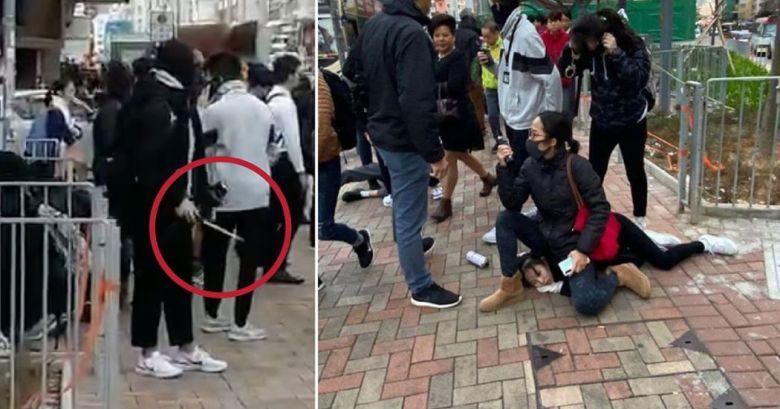 To Kwa Wan police arrest student