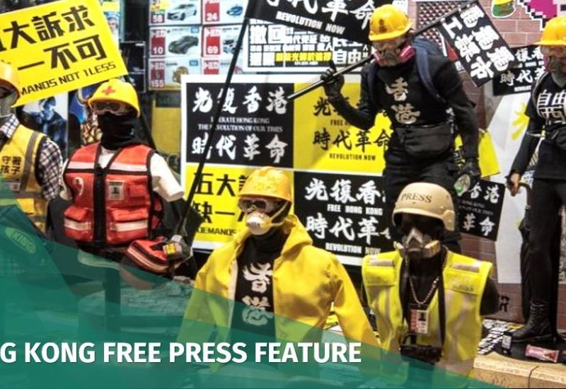miniatures hong kong protest