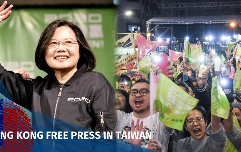 Tsai Ing-wen DPP win election Taiwan