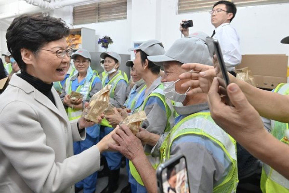 carrie lam cleaners