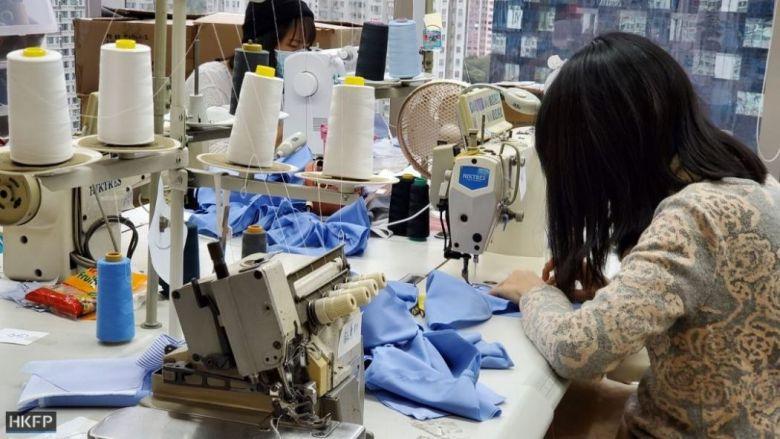 sewing machine face masks