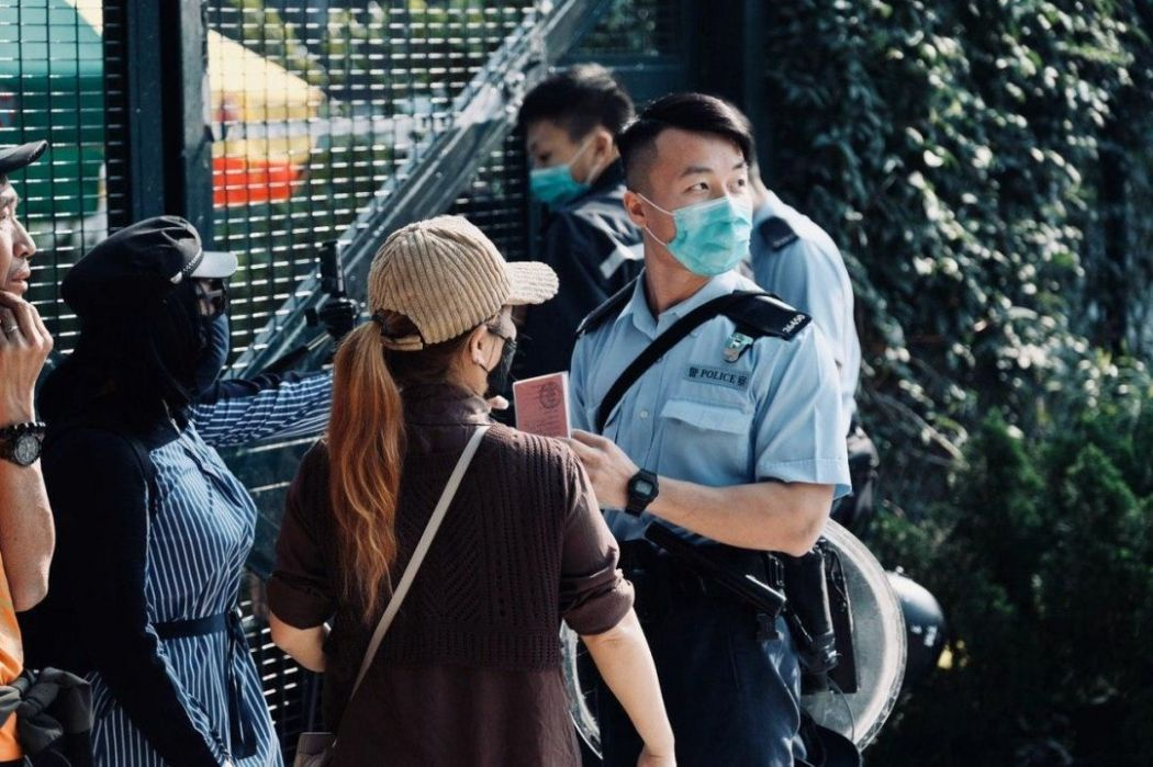 police tuen mun park protest