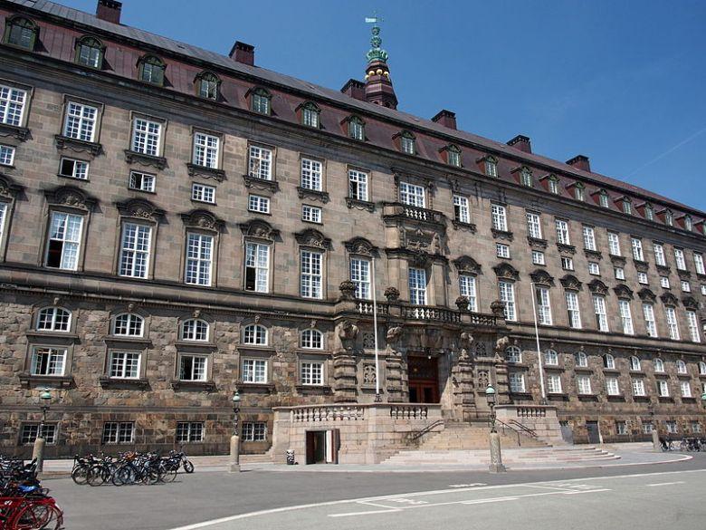 Christiansborg Palace Danish Parliament Folketing