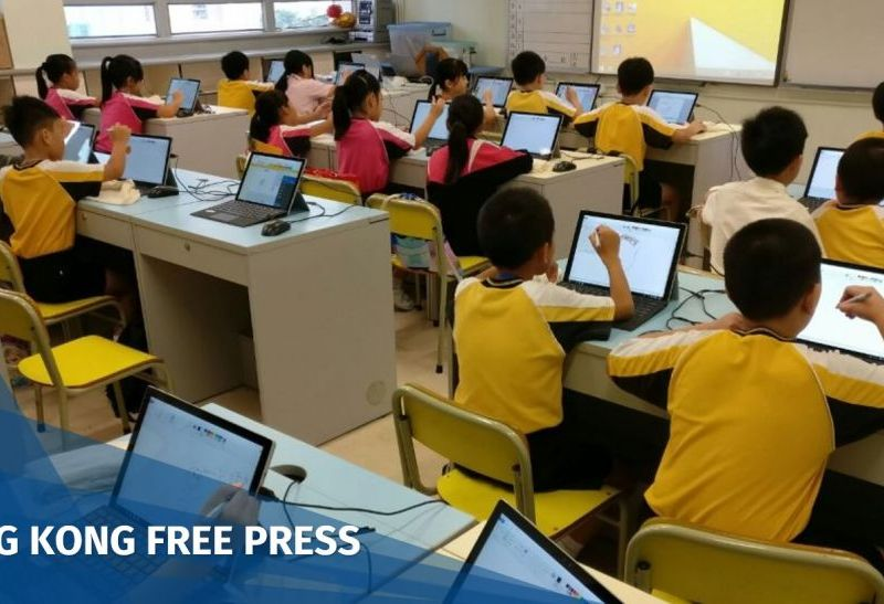 hong kong school kids