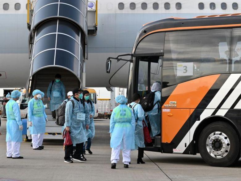 Hubei stranded citizens chartered flight